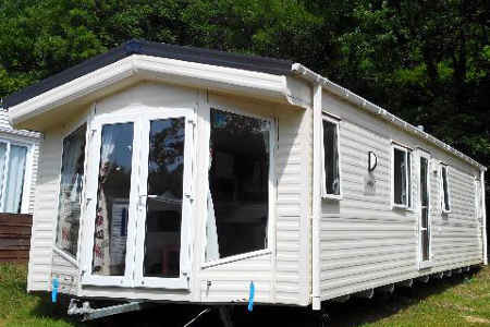 Double porte mobil home